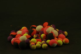 Two tone Fluo pop ups 15mm