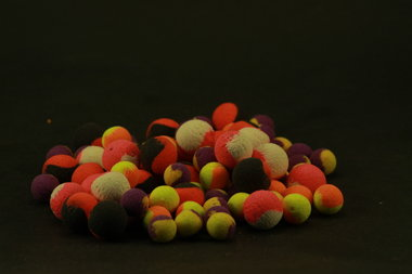 Two tone Fluo pop ups 12mm